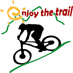 enjoy the trail logo